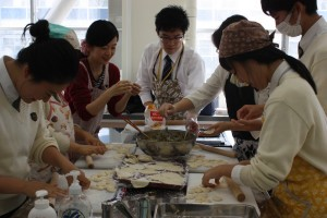 ブログ掲載① 国際高校(餃子)