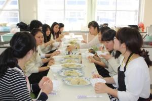 ブログ掲載③ 国際高校(餃子)